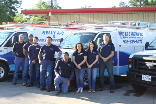 Kelly AC Team and Crew